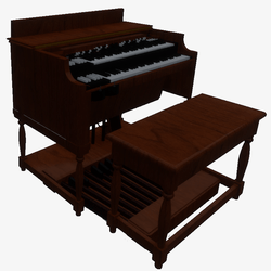 Hammond B3 Organ - playable