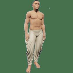 Baggy Pants Male