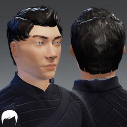 Hair - male v3