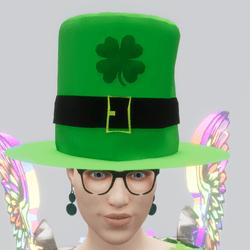 St Patrick Day Hat (F) (TM)