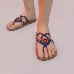 Sailor Jeans silver shoes