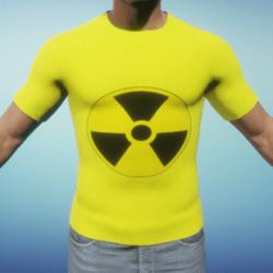 Radioactive Yellow Men's T-Shirt