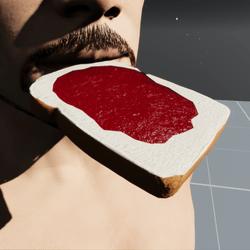 Strawberry Jam Toast M