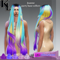 Joanne-party base collors