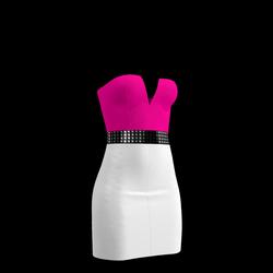 80's Day-Glow Club Dress 17