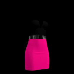 80's Day-Glow Club Dress 14