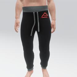 Raze Sweatpants (M) Black With Coloured Sides