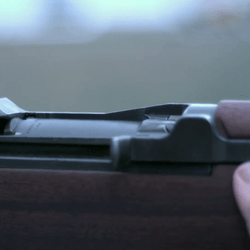 Large Caliber Rifle Shot