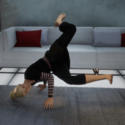 Breakdance 1 (Female) - Abra