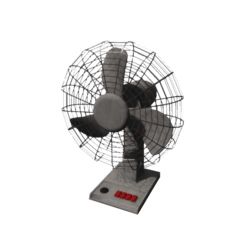 Table fan [Animated]