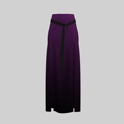 Skirt Briana Gradient Deep Purple 2.0