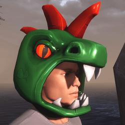 FREE Kaiju Head (Male)
