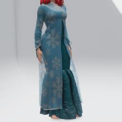 Unfrozen Dress (TM)