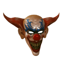 Creepy Clown Mask (Male)