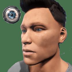 FREE Eyes Blue/Green (Male)