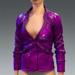 Rubber Jacket Pink