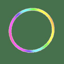 Rainbow Glow Circle (rez)