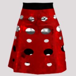Dalek  Skirt (Red)