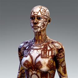 Android Body V2 for AV2 Rusty Version