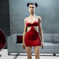 MIA mini dress red