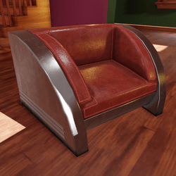 Deco SpectraLiner Chair III
