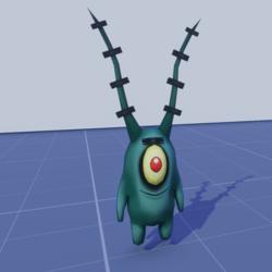 Plankton plush