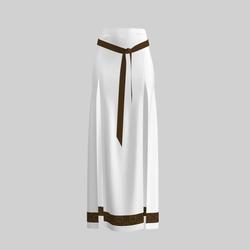 Skirt Briana White & Gold 2.0