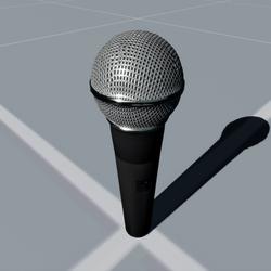 Voice Cast Microphone
