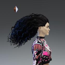 Morgana - Hair