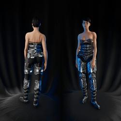Sci-Fi Armor Bottom part 2/2 (white 2)