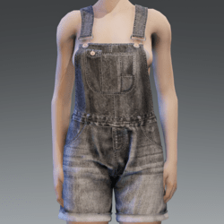 UNISEX Jeans Dungaree/Overall