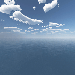 Oasis Blue Skybox