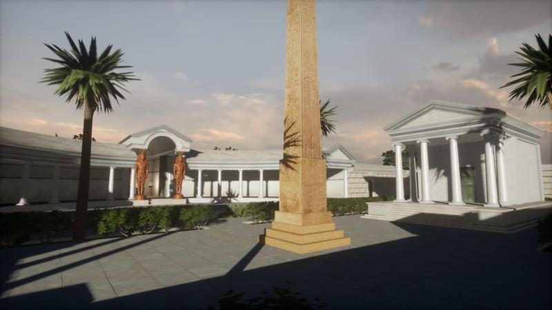 IDIA Lab : The Antinoeion at Hadrian's Villa