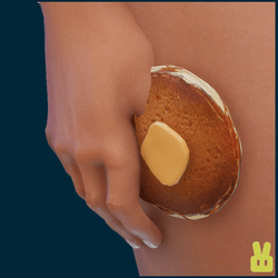 pancake - hand