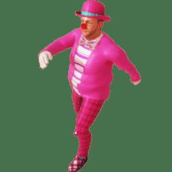 Clown Swing Dancing  Animated