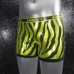 Boxer Briefs Zebra yellow