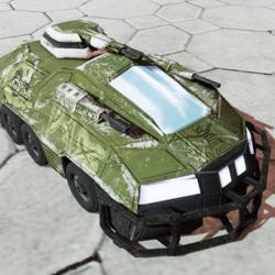 Armored Assault Vehicle Urban Rebel