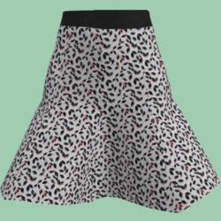 Holly's short skirt