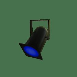 Blue Parcan Light