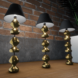 GOLD LAMPS - DECORATIVE LIGHTS