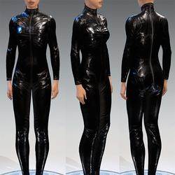 Bodysuit Rubber Catsuit Latex Black