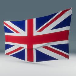 UK Flag Wall Display