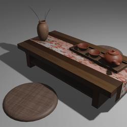 Table Modern Japan