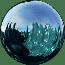 Icescape Aqua