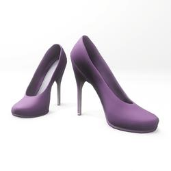 "High heel pumps for ""Alina Daisy highheels"" and ""Nicci"" avatar - purple"
