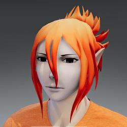 Mukuro hair ginger