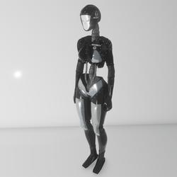 Lady Futura avatar (security)