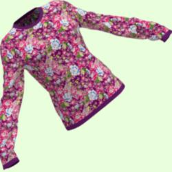 Pretty Flower Sweater