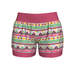 Woman Short - Ethnic 2