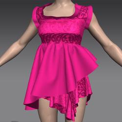 Masoom sabrina dress Pink